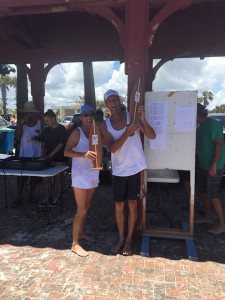 Open Longboard winners
