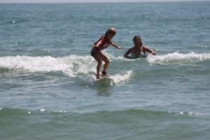 Tadpole Surfing